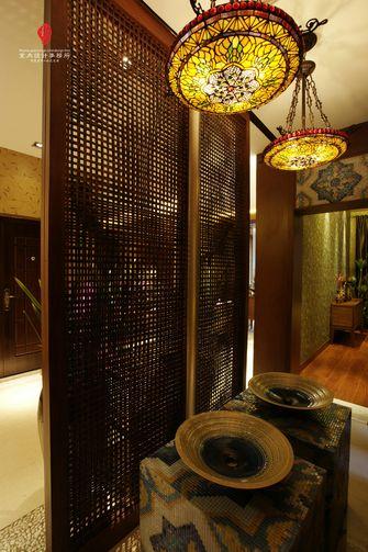 5-10万140平米三室两厅东南亚风格玄关图片