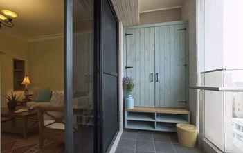120平米三室两厅田园风格阳台欣赏图