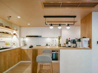 100平米三室两厅日式风格厨房装修案例
