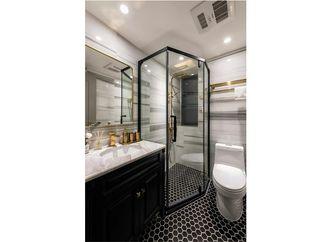 80平米三室一厅新古典风格卫生间装修案例
