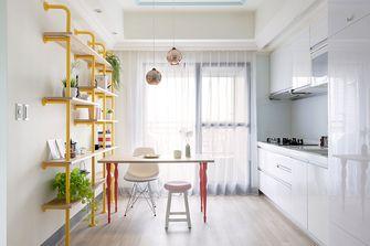 80平米三室两厅混搭风格厨房图