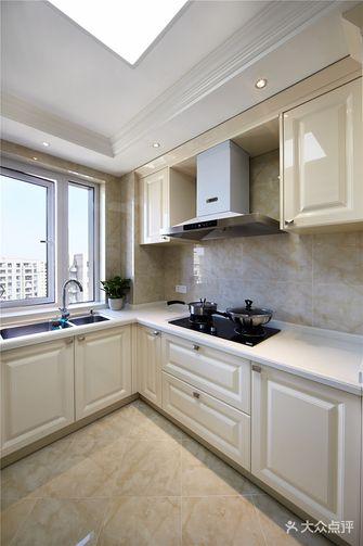 130平米四室两厅新古典风格厨房图