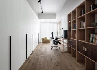 120平米四北欧风格书房设计图