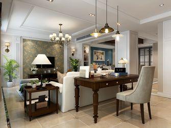 130平米复式美式风格客厅图片