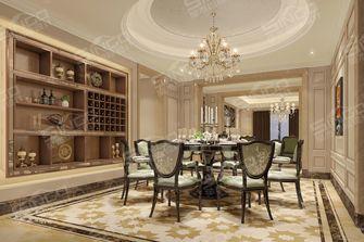 豪华型140平米四室四厅新古典风格餐厅设计图