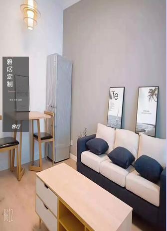 60平米一室一厅宜家风格客厅装修案例