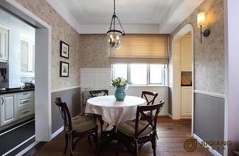 90平米三室一厅英伦风格餐厅设计图