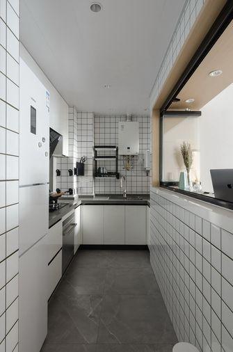 70平米一居室田园风格厨房欣赏图