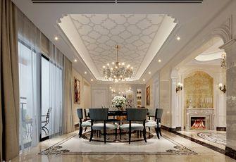 140平米三室三厅欧式风格餐厅欣赏图