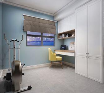 140平米三室两厅美式风格健身室装修案例