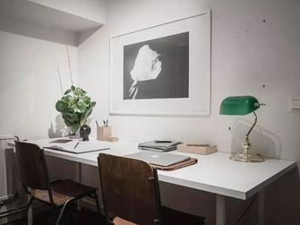 70平米一室一厅北欧风格书房图片大全