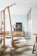 140平米三现代简约风格阳光房设计图