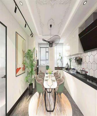 110平米三室两厅法式风格餐厅装修案例