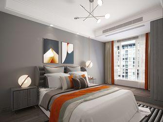 140平米三室三厅混搭风格卧室装修案例