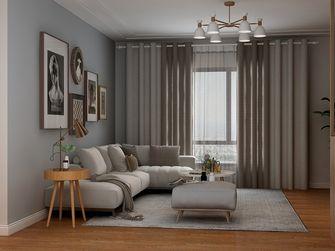120平米四室两厅现代简约风格客厅欣赏图