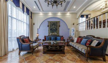 140平米复式地中海风格客厅效果图