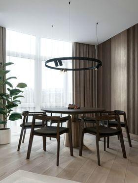 110平米三室兩廳現代簡約風格餐廳裝修圖片大全