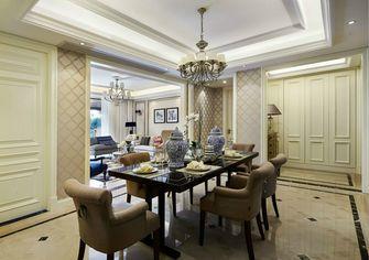20万以上140平米三室两厅欧式风格餐厅背景墙装修图片大全