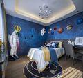 100平米三室两厅混搭风格儿童房欣赏图