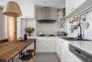60平米一居室北欧风格厨房设计图