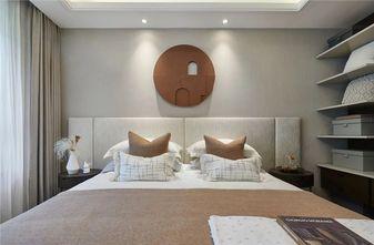 120平米三室一厅现代简约风格卧室图