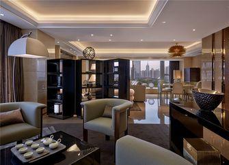 富裕型130平米三现代简约风格客厅图片