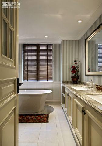 130平米三室两厅混搭风格卫生间浴室柜效果图