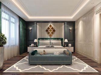 130平米三室两厅法式风格卧室图