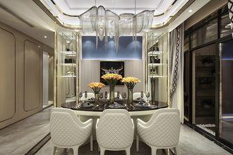 140平米三室一厅法式风格餐厅设计图