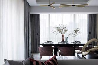 130平米四室两厅英伦风格餐厅图片大全