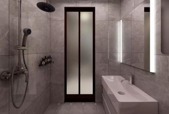 50平米一居室宜家风格卫生间效果图
