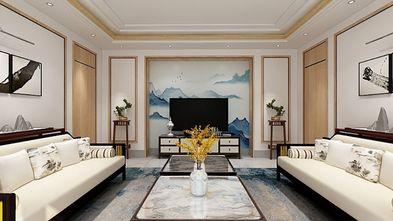 130平米三室一厅新古典风格客厅装修效果图