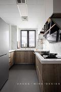 120平米三混搭风格厨房设计图