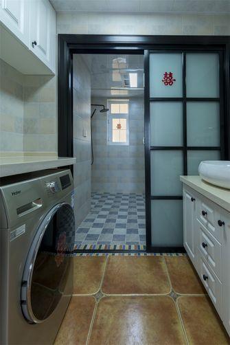 110平米三室两厅田园风格卫生间设计图