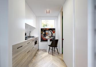 40平米小户型混搭风格厨房装修案例