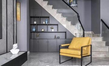 130平米三室两厅现代简约风格储藏室图片大全