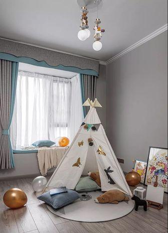 120平米美式风格儿童房图片大全