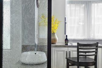 140平米三室两厅美式风格卫生间图