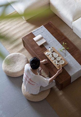 140平米三室一厅日式风格书房装修效果图