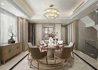 140平米公寓中式风格餐厅图