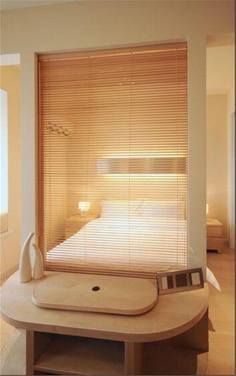 经济型60平米一室一厅法式风格卧室欣赏图
