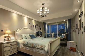 60平米一居室美式风格卧室图片大全