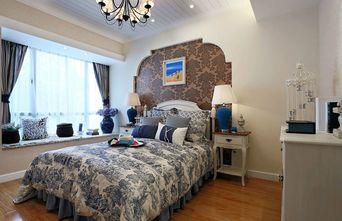 90平米三地中海风格卧室装修案例