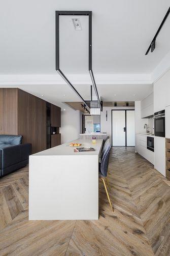 140平米公寓现代简约风格餐厅装修效果图