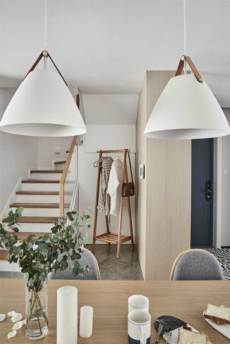 90平米三室两厅北欧风格楼梯间图片