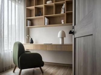 120平米三室两厅日式风格书房图