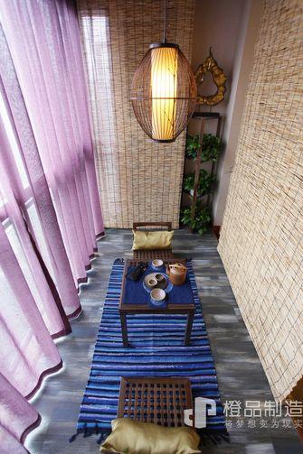 90平米三东南亚风格阳台装修图片大全