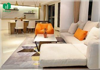 140平米一室两厅现代简约风格客厅设计图