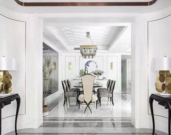 140平米四室三厅美式风格餐厅欣赏图