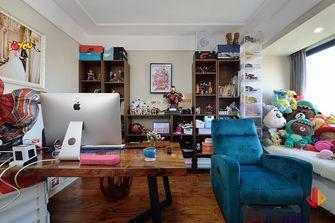140平米四室三厅中式风格书房图
